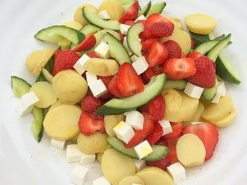 Opskrift på ny salat